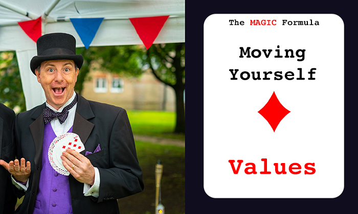 The MAGIC Formula- Moving Yourself - Values