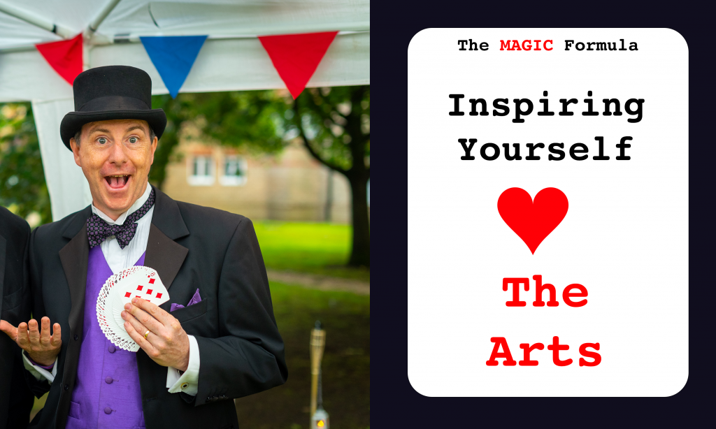 Inspiring Yourself - The Arts